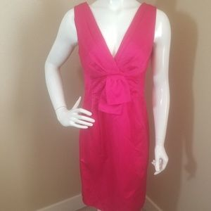 NANETTE LEPORE Hot Pink Dress 8